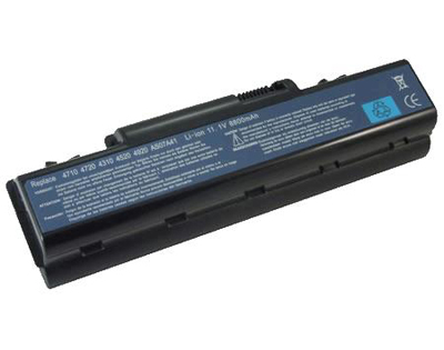 replacement as2007a battery,li-ion 8800mAh acer as2007a laptop battery