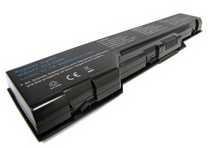 replacement xps m1730 battery,6600mAh dell li-ion battery for xps m1730