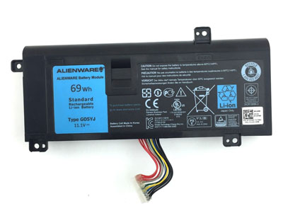 genuine G05YJ battery pack,69Wh dell li-ion battery for g05yj