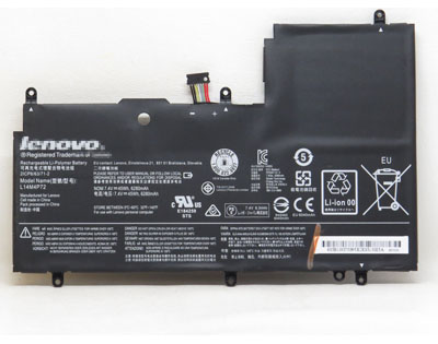 genuine L14S4P72 battery pack,45Wh lenovo li-polymer battery for l14s4p72