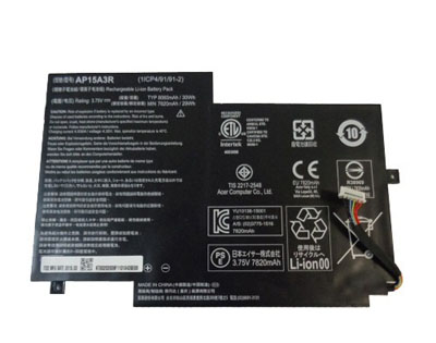 original ap15a3r laptop battery